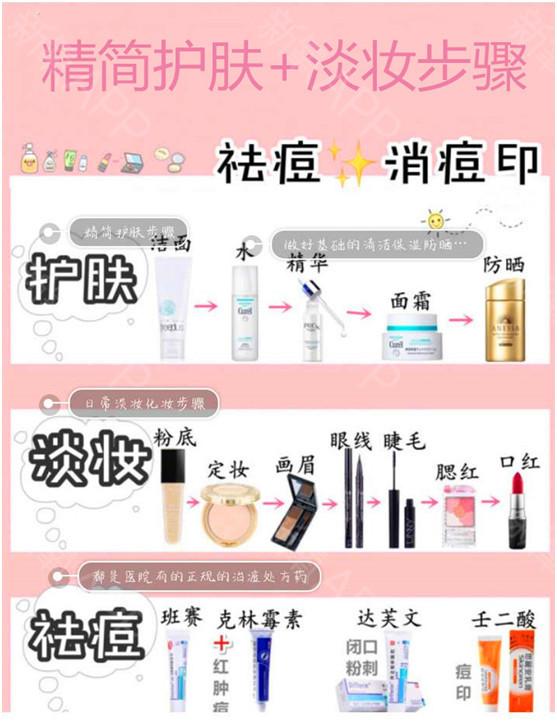 基础护肤化妆步骤教学教程网